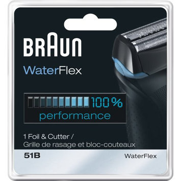 Braun Series 5 Combi 51b Foil And Cutter Replacement Head Pack 1 Count Series 5 Combi 51b Foil And Cutter Replacement Head Pack 1 Count