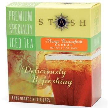 Stash Tea Mango Passionfruit Herbal Iced Tea