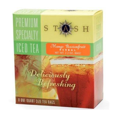 Stash Tea Mango Passionfruit Herbal Iced Tea