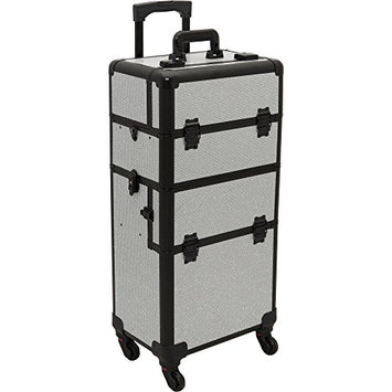 Hiker Prime 2-in-1 Hair Stylist Organizer Makeup Rolling Case