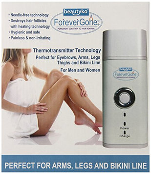 Forever Gone Heat Therapy Hair Removal System for Sensitive Skin Complete Set