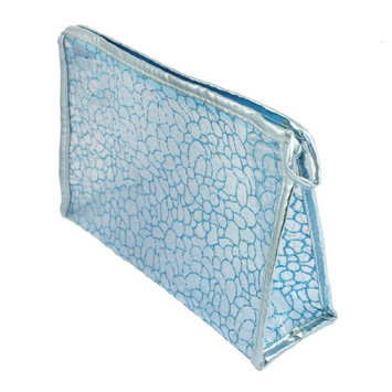 Uxcell Rectangle Lady Glittery Mesh Cosmetic Bag or Holder