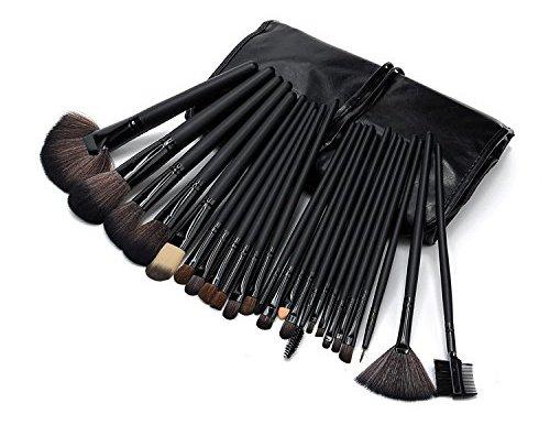 PuTwo 24 Piece Professional Brushes Set Makeup Kit with Bag