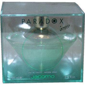 Paradox Green By Jacomo For Women. Eau De Toilette Spray 3.4 Ounces