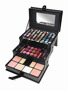 Cameo Matte All In One Makeup Kit (Black Crocodile Leather)