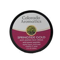 Colorado Aromatics Springtide Gold Antiaging Face Cream