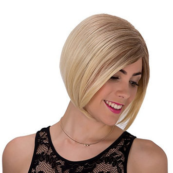 Generic Side Part Short Ombre Synthetic Bob Capless Wig