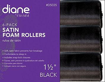Diane D5035 Satin Foam Rollers - 1 1/2 Inch ( 6 pack )
