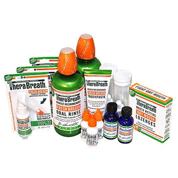 Dr. Harold Katz Therabreath Tonsil Stones Mouthwash Deluxe Kit