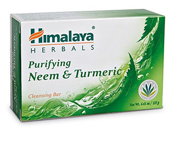 Himalaya Herbal Healthcare Purifying Neem and Turmeric Cleansing Bar
