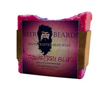 Beer For Beards Strawberry Blush Beer Soap