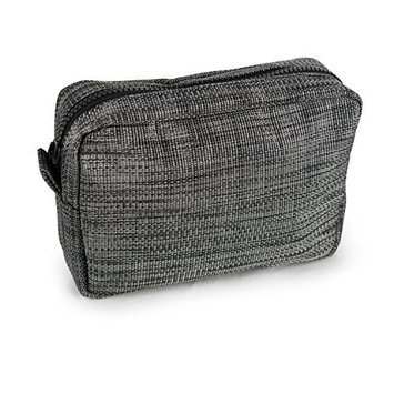 DII Oceanique Everyday Personal Care Essentials Large Cosmetic Bag/Pouch For Makeup