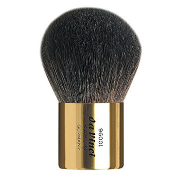 Da Vinci Series 96001 Gold Kabuki Powder Brush in Black Leather Sleeve