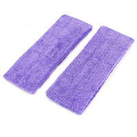 Uxcell 2 Piece Stretchy Sports Washable Headband Hair Holder