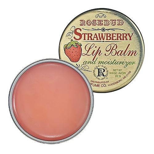 Rosebud Perfume Co Smith's Strawberry Lip Balm
