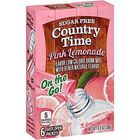 Country Time On the Go! Sugar Free Pink Lemonade Drink Mix