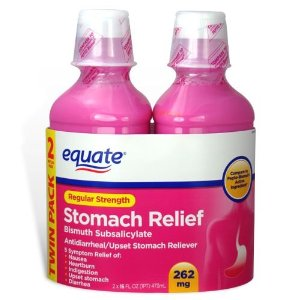 Equate Stomach Relief Regular Strength Pink Liquid