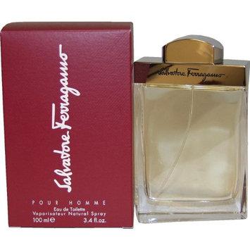 Salvatore Ferragamo By Salvatore Ferragamo For Men. Eau De Toilette Spray 3.4 Ounces