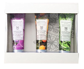 Upper Canada Soap Brompton and Langley 3-Piece Hand Cream Set