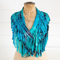 Natural Life Infinity Fringe Scarf