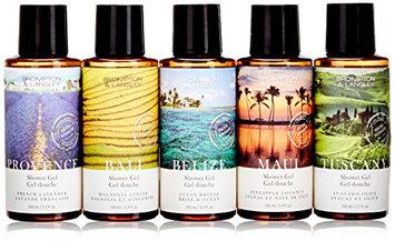 Upper Canada Soap Brompton and Langley Exotic Retreats Bath Gels Gift Set