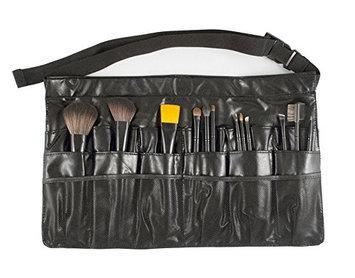 Beauty Pro Series 12 pc Brush Set in Apron Black