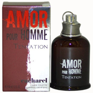 Amor Pour Homme Tentation By Cacharel For Men Edt Spray 1.3 Oz