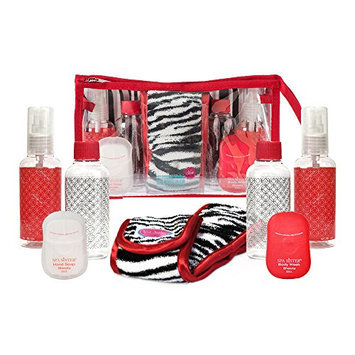 Bath Accessories Carry-On In Style Travel Set