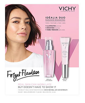 Vichy Idéalia Duo Radiance-Enhancing Serum and Eye Cream Set