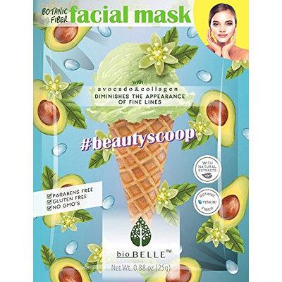 Biobelle Wrinkle minimizing Avocado Sheet mask 3pcs