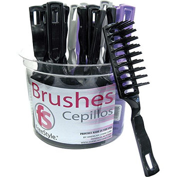 American Comb Vent Brush Tub