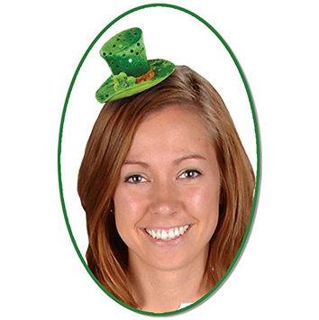 Leprechaun Hat Hair Clip Party Accessory (1 count) (1/Pkg)