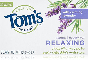 Tom's of Maine Relaxing Natural Beauty Bar Soaps