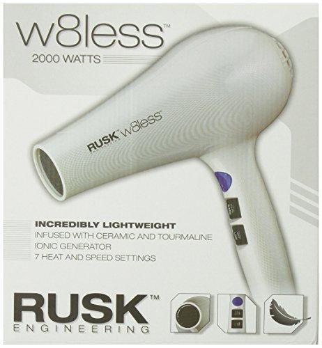 Rusk W8less Professional Lightweight Ceramic Tourmaline Hair Dryer