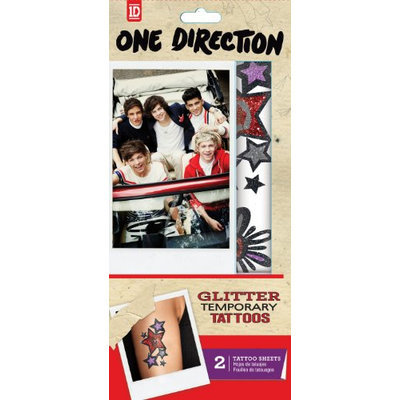 Tempt Tattous One Direction Temporary Glitter Tattoo