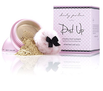 Booty Parlor Dust Up Kissable Body Shimmer - Marshmallow Gold