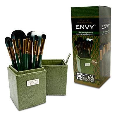 Royal Brush Guilty Pleasures Envy Cosmetic Brush Box Kit