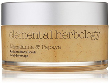elemental herbology Macadamia and Papaya Radiance Body Scrub
