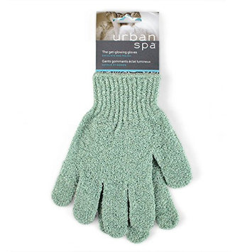 Urban Spa Exfoliating Gloves  For Shower
