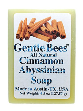 Gentle Bees Cinnamon Abyssinian Soap