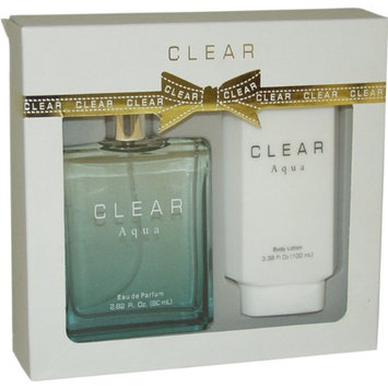 Intercity Beauty Company Clear Aqua Gift Set for Women