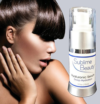 HYALURONIC MOISTURIZING SERUM from Sublime Beauty