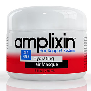 Amplixin Hydrating Deep Conditioner Masque With Coconut & Argan Oil For Dry & Damaged Hair - 8oz