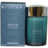Bvlgari Aqva Pour Homme By Bvlgari For Men. Aftershave Emulsion 3.4 Oz