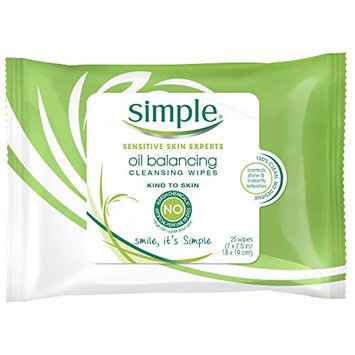 Simple Oil Balancing Wipes