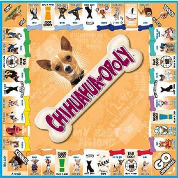 Chihuahua-opoly Board Game, Ages 8+, 1 ea