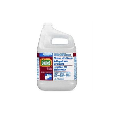 Procter & Gamble Comet Cleaner w/Bleach, Liquid, 1 gal. Bottle