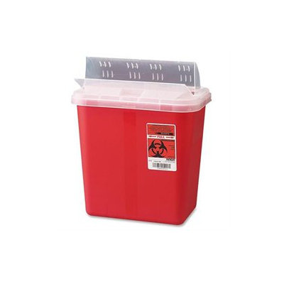 Unimed-midwest, Inc. UMIS2GH100651 - Unimed-Midwest Sharp Container with Drop Lid