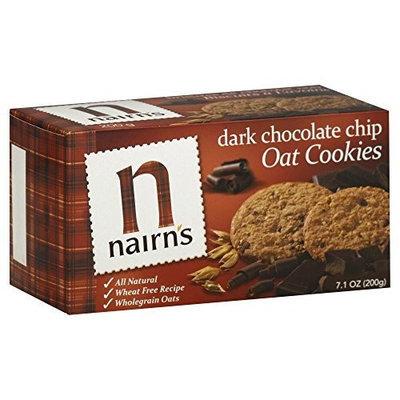 Nairns Nairn's Dark Chocolate Oat Biscuits 7.1 oz. (Pack of 12)