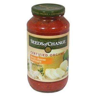Seeds Of Change Organic 3 Cheese Pasta Sauce ( 6x24.5 OZ)